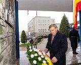 Prezydent Białegostoku Tadeusz Truskolaski uczcił pamięć Andrzeja Piotra Lussy (zdjęcia)