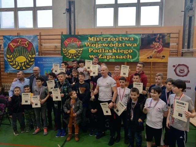 Mistrzostwa województwa podlaskiego w zapasach w stylu klasycznym w Grajewie