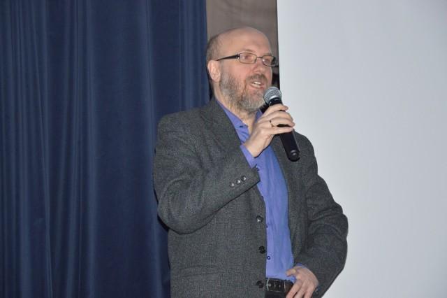Wykład Cezarego Sękalskiego w Staszowskim Ośrodku Kultury.