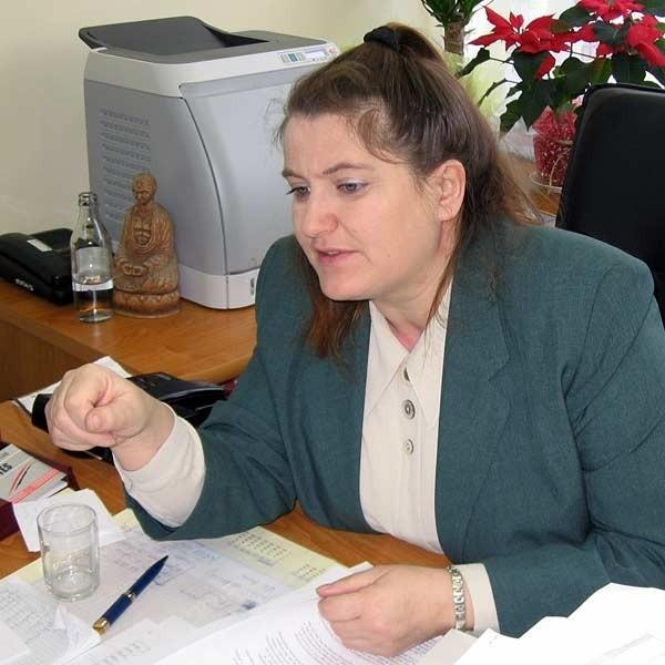 Starosta Ewa Sudoł zaskoczyła radnych swoja nagłą rezygnacją.