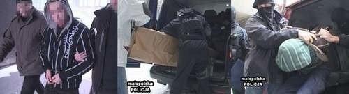Zdjęcia z zatrzymania podejrzanych