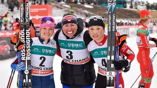 Justyna Kowalczyk wygrała w Pjongczang