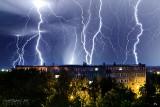 Burza jak z horroru przeszła nad Staszowem. Zdjęcia porażają (FOTO)