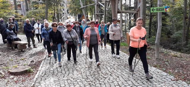 """W ramach projektu """"W zdrowym ciele zdrowy duch - program prozdrowotnego wsparcia seniorów z gminy Raciechowice i okolic"""" odbędą się m.in. zajęcia nordic walking"""