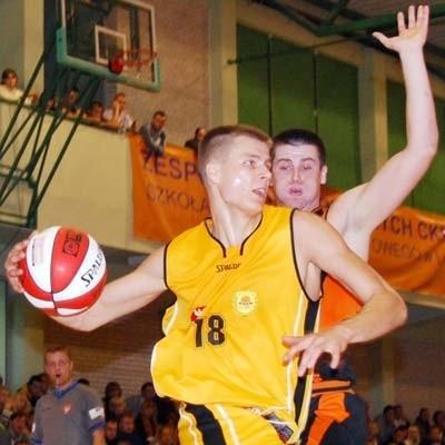 Andrzej Misiewicz został graczem meczu spotkania w Kaliszu