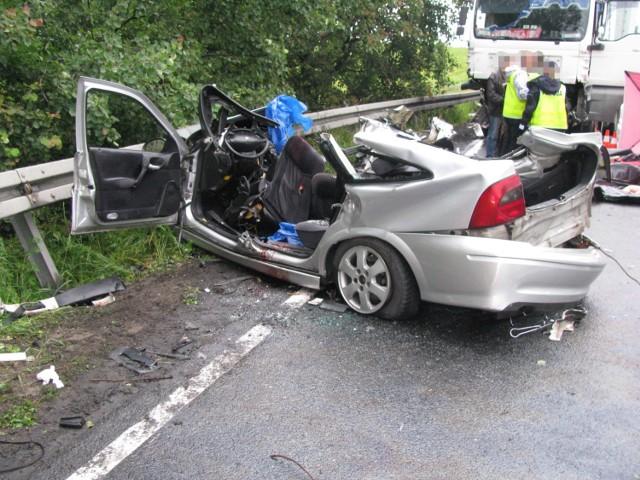W wypadku w Kochłowach zginęły dwa rodzeństwa. Kierowca TIR-a bez tachografu