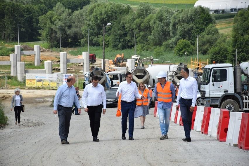 Premier Mateusz Morawiecki wizytował budowę północnej...