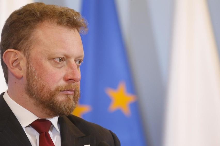 Łukasz Szumowski Minister Zdrowia.