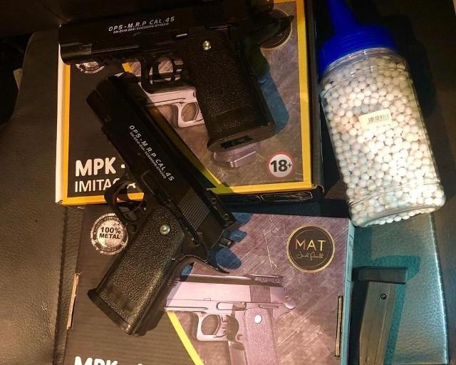 17-latek z pistoletu na plastikowe kulki strzelał do samochodów. 20.07.2019