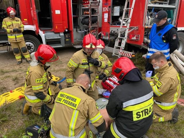 Wielkie ćwiczenia pomorskich strażaków.