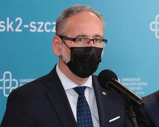Szef resortu zdrowia będzie mówił o bieżącej sytuacji epidemicznej.