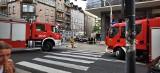 Wypadek w Katowicach. Na przechodniów spadła sygnalizacja świetlna. Są ranni