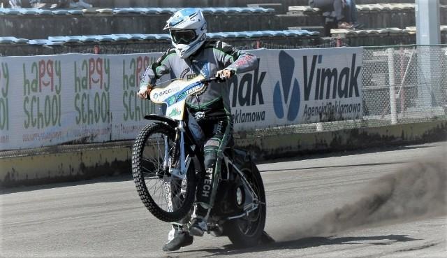 Kamil Wieczorek, wychowanek RKM ROW Rybnik, obecnie junior MrGarden GKM wystartuje w półfinale Brązowego Kasku w Opolu