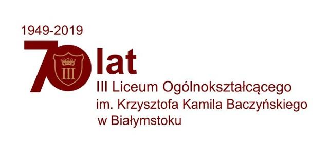 Uroczysty jubileusz III LO w Białymstoku będzie trwał trzy dni, rozpocznie się już w najbliższą środę 16 października