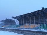 Trybuny stadionu w Głowaczowie już gotowe. Jest też oświetlenie! (ZDJĘCIA)