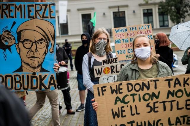 """""""Chcemy, by politycy zaczęli podejmować odważne działania związane z klimatem"""" - mówią organizatorzy akcji"""