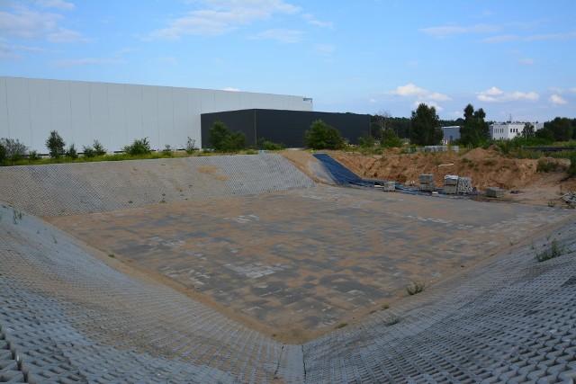 Gmina nie ponosi kosztów związanych z budową zbiornika retencyjnego