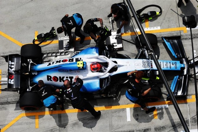 F1 2019 Punkty Kubicy I Jego Kolegi Z Williamsa Na Ulicach