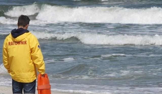 Turysta utonął w morzu w miejscowości Wicie 6.08.2018