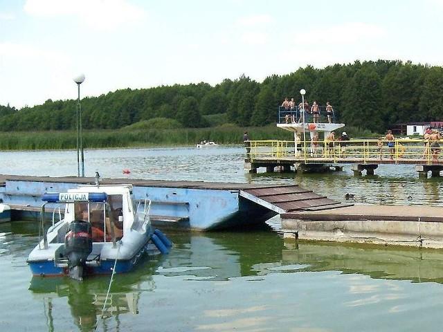 Patrolowany będzie nie tylko teren wokół kąpieliska w Rudniku, ale także samo jezioro