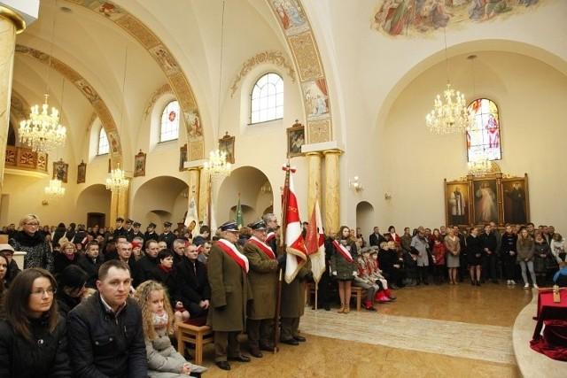 Obchody Dnia Pamięci Niezłomnych w Łapach