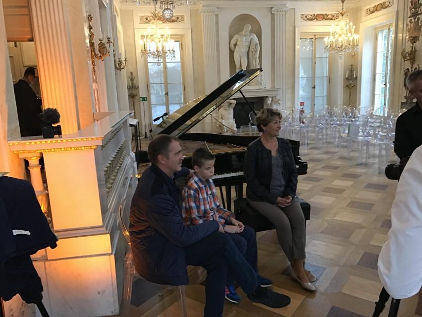 Niewidomy 13 Letni Uczeń Bydgoskich Szkół Dał Koncert W