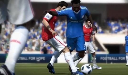 Screen z FIFA 12.