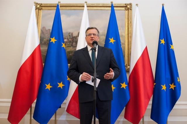 Bronisław Komorowski to zdecydowany faworyt wyborów prezydenckich