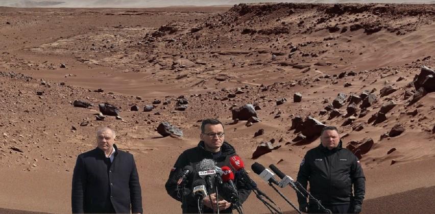 Na Marsie jest życie, polscy politycy byli tam przed...