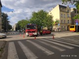 Zderzenie z autobusem MPK w centrum Łodzi - cztery osoby ranne