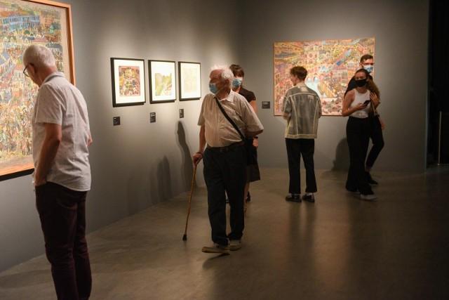 Wystawa prac Edwarda Dwurnika w toruńskim CSW
