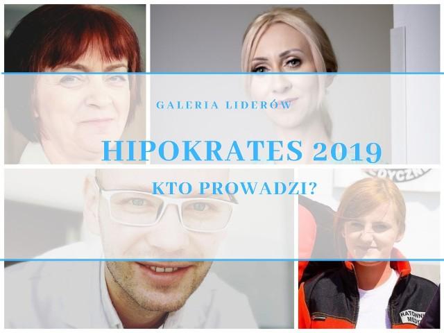 Już dziś wielki finał akcji Hipokrates 2019 w naszym województwie. Zobaczcie liderów poszczególnych kategorii w ostatnich godzinach przed rozstrzygnięciem (stan na godz. 10).