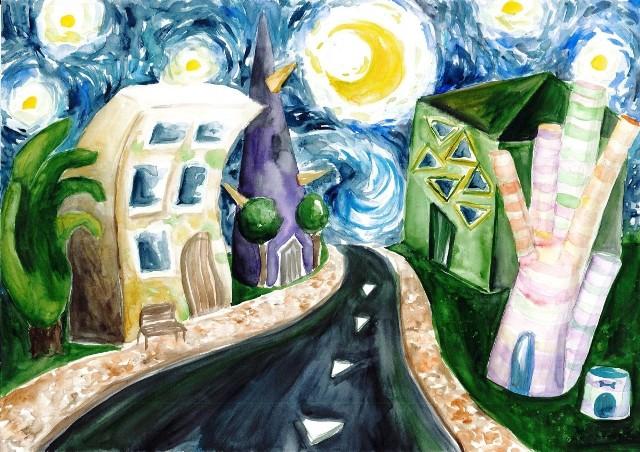 Regionalny konkurs malarski zorganizowany przez Liceum Sztuk Plastycznych w Wodzisławiu Śląskim. Zobacz kolejne zdjęcia. Przesuwaj zdjęcia w prawo - naciśnij strzałkę lub przycisk NASTĘPNE