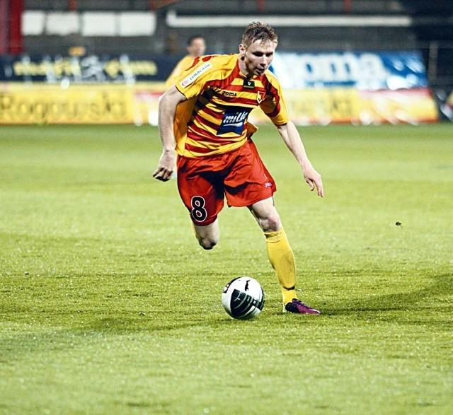 Tomasz Kupisz miał w minionym sezonie najwięcej asyst w Jagiellonii