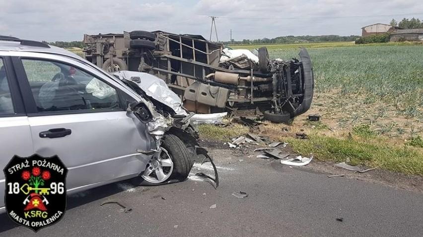 Do wypadku doszło w poniedziałek, 25 czerwca kilkanaście...