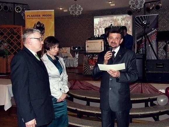 Rodzice chorego Dawida Ludwiczaka z Chocianowic otrzymali 13 tys. zł (fot. Piotr Mazurczak)