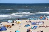 Dramat nad morzem! 32-letni policjant utonął, ratując 12-letnie dziecko! Kolejne tragiczne informacje z plaż Mierzei Wiślanej