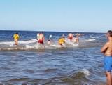Akcja poszukiwawcza nad Bałtykiem. Ratownicy szukali dziewczynki [FILM, zdjęcia]