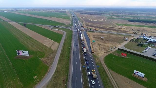 DK1, budowa autostrady A1