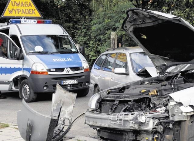 Policja uznała, że kolizję spowodował kierowca opla