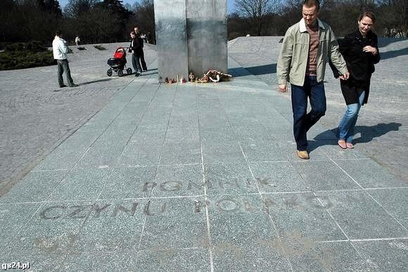 Dziś pod Pomnikiem Czynu Polaków odbędą się uroczystości.