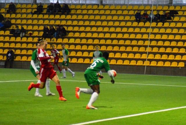 Wigry Suwałki przegrały 0:1 z Żalgirisem Wilno
