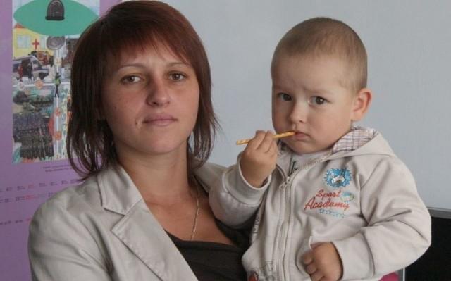 Tobiasz Lichosik zachorował na cukrzycę typu I kiedy skończył rok. Jest cały czas pod opieką mamy.