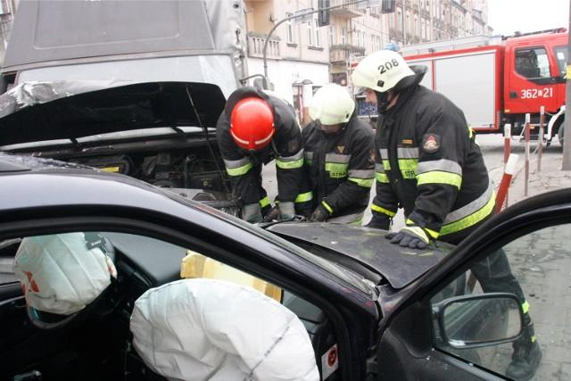 Wypadek - zdjęcie ilustracyjne