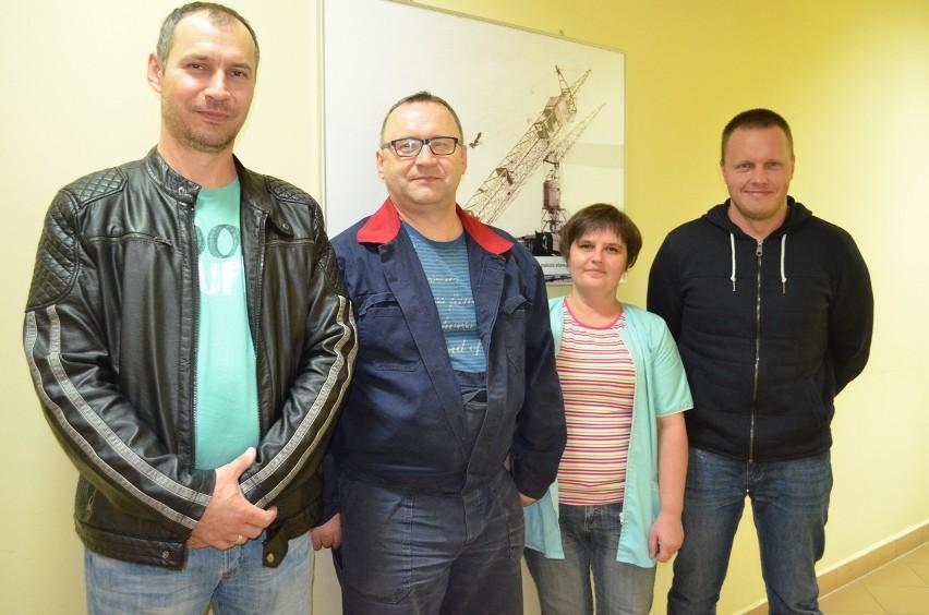 Od lewej: Paweł Lemanowicz, Anna Lemanowicz i jej mąż Andrzej oraz Arkadiusz Kaczor