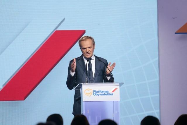 """Donald Tusk znów obejmie stery PO. """"Wróciłem na 100 procent"""""""