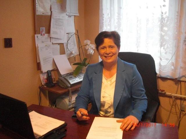 Wiesława Błach, prezeska Kamionki jest pełna optymizmu.  Cieszy się, że zauważono jej pracę.