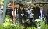 Pogrzeb Piotra Soyki na cmentarzu Srebrzysko w Gdańsku 12.08.2020. Na terenie stoczni Grupy Remontowej Holding SA. włączone zostały syreny