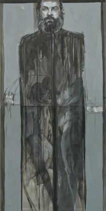 Praca B. Polnara, którą można oglądać w Galerii Sztuki Współczesnej w Opolu.