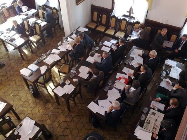 W Ratuszu trwa sesja Rady Miasta Rzeszowa.
